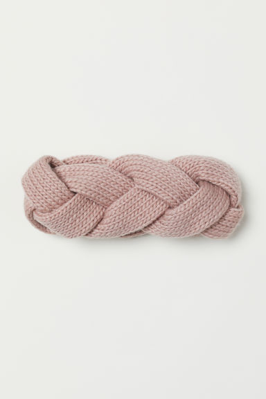 Braided headband - Dusky pink - Ladies | H&M CN
