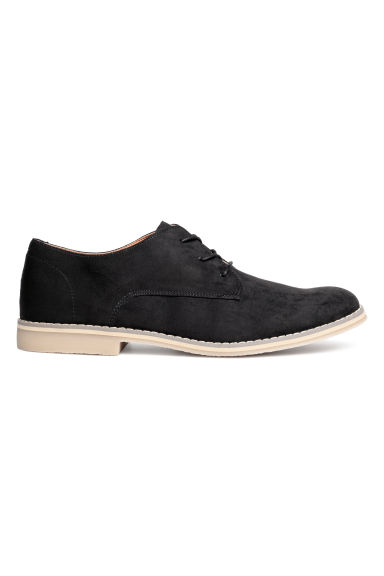 Derby shoes - Black - Men | H&M