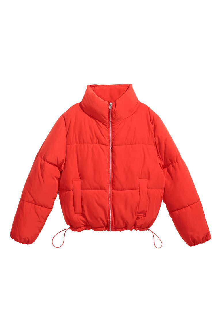 Padded jacket - Red -  | H&M