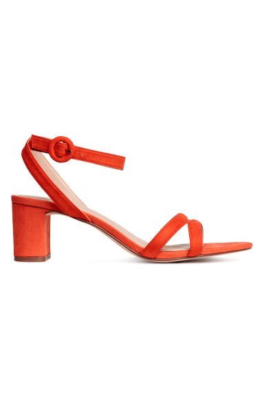 Sandals - Orange - Ladies | H&M