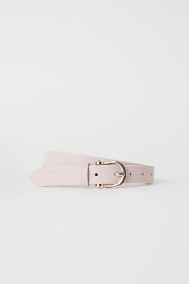 Narrow belt - Powder pink - Ladies | H&M CN