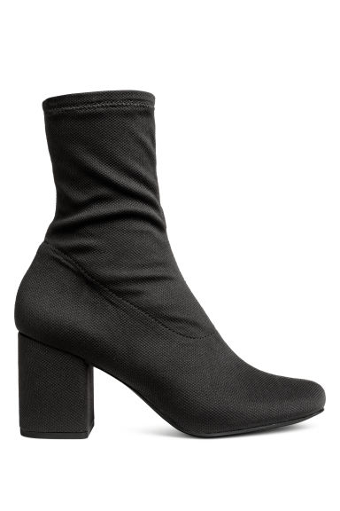 Ankle boots with a soft shaft - Black - Ladies | H&M