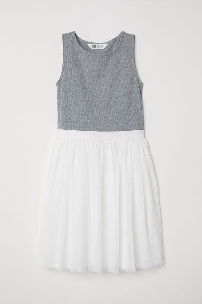 add45a4d849 Tulle dress - White - Kids
