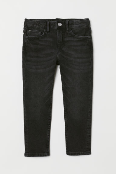 Slim Fit Jeans - Black - Kids | H&M CN