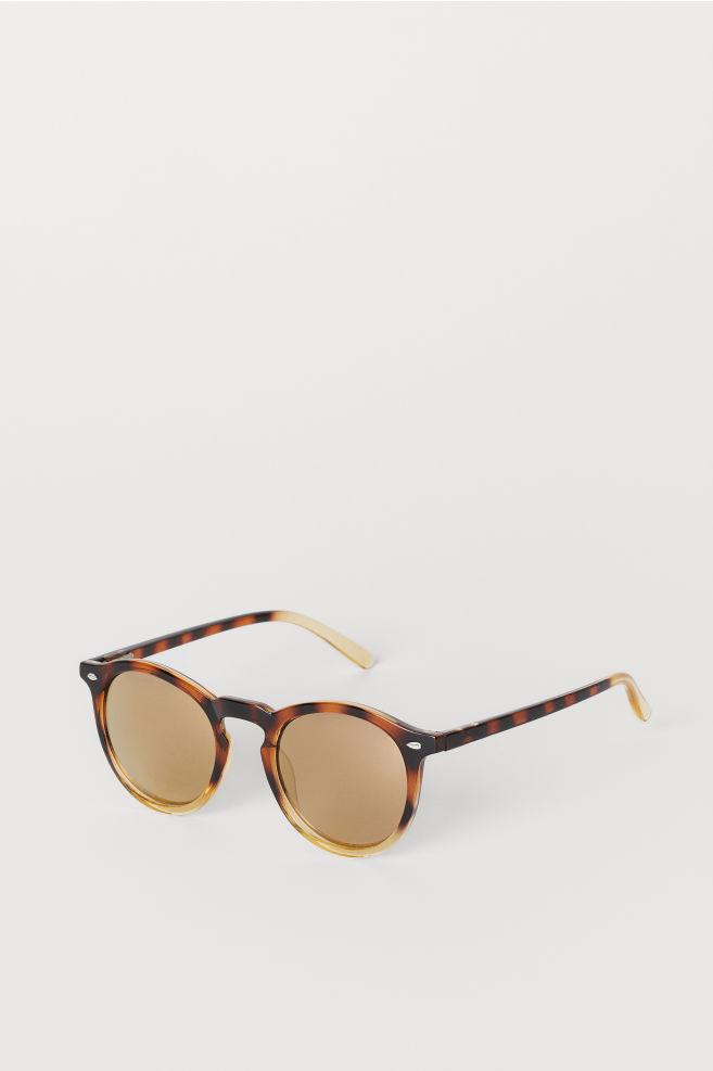 838ee243b835a Sunglasses - Brown Patterned - Men