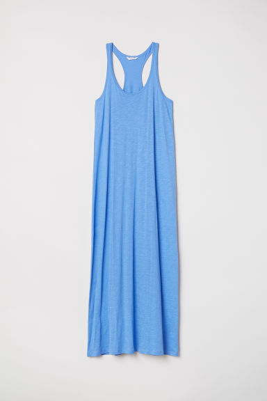 Modal-blend jersey dress - Light blue - Ladies | H&M