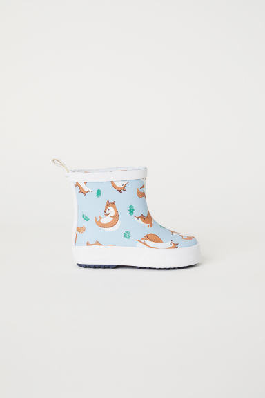 Wellingtons - Light blue/Foxes - Kids | H&M CN