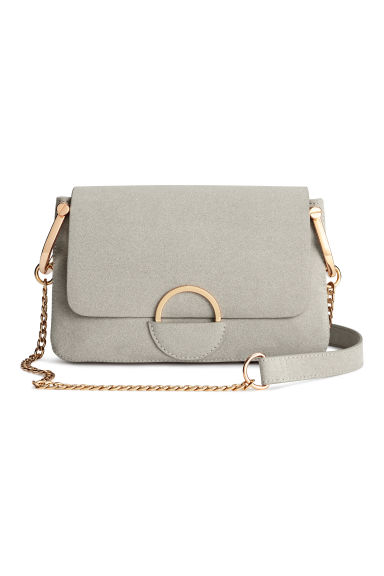 Shoulder bag - Light grey -  | H&M