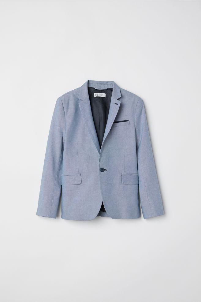 1fea5151 Enkeltspent blazer - Lys blå - BARN | H&M ...