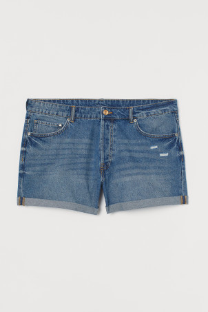 H&M+ Shorts in jeans BoyfriendModal