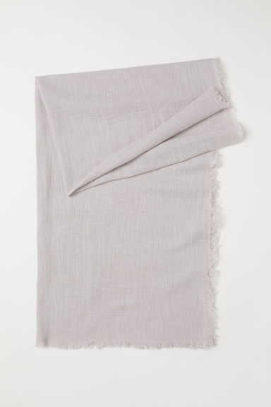 Cotton scarf - Light mole - Ladies | H&M CN