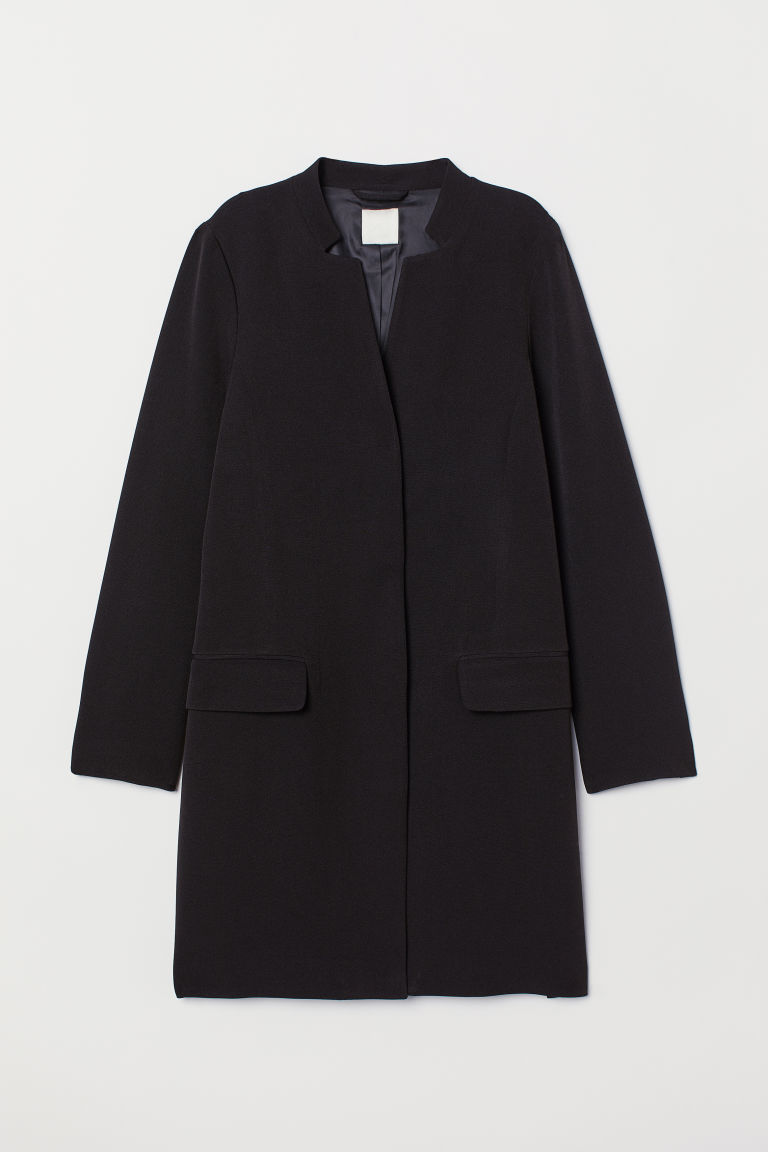 Long jacket - Black - Ladies | H&M