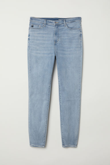 H&M+ Shaping Skinny High Jeans - Azul denim claro - MUJER | H&M ES