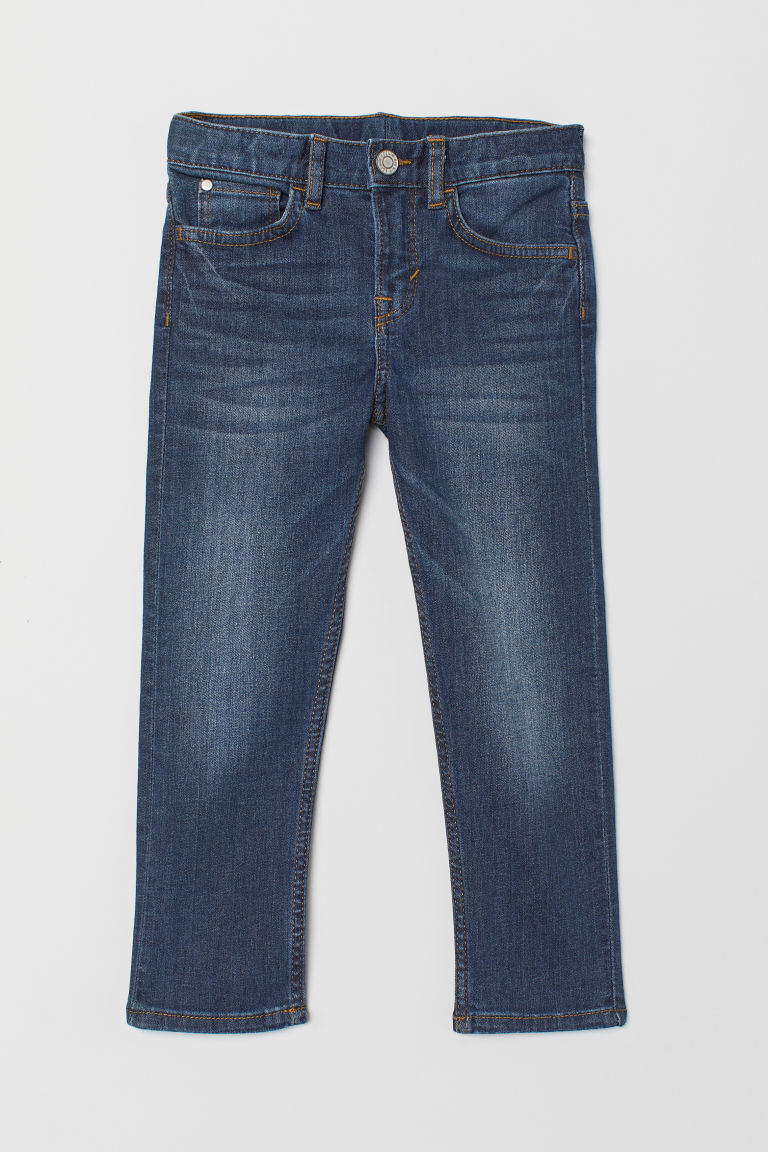 Slim Fit Jeans - Dark denim blue - Kids | H&M GB