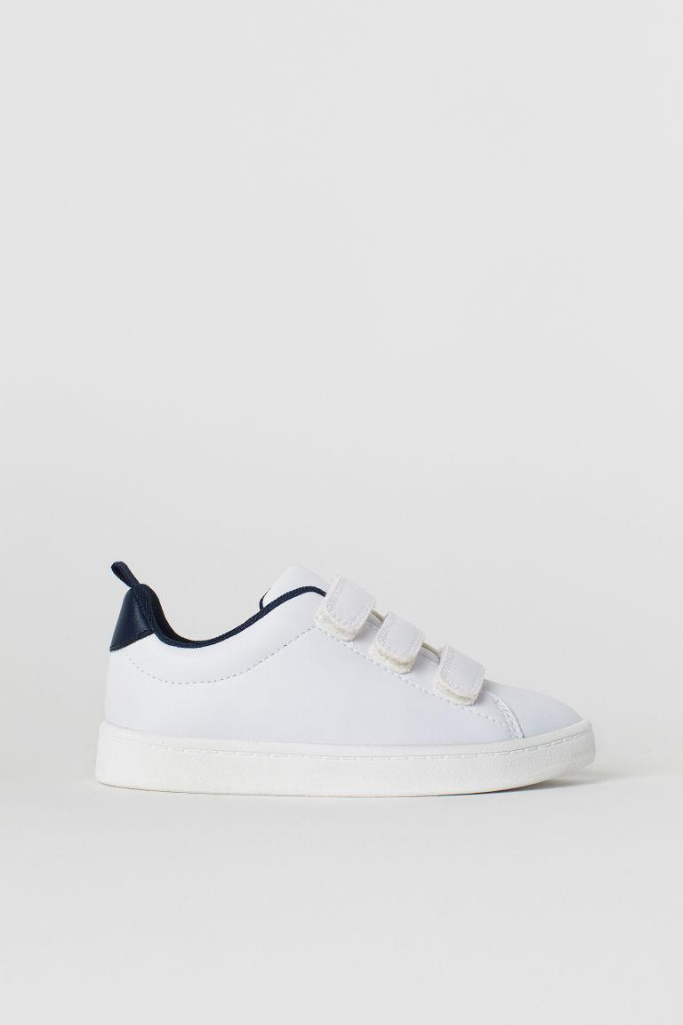 Trainers - White/Dark blue - Kids | H&M CN
