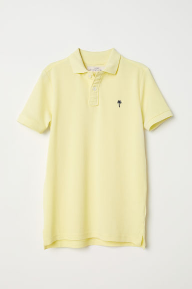 Polo shirt - Light yellow - Kids | H&M