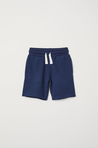 Sweatshirt shorts - Dark blue - Kids | H&M