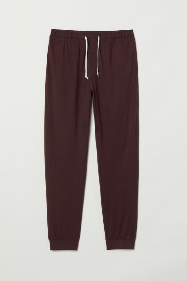 Pantaloni da pigiama - Bordeaux - UOMO | H&M IT