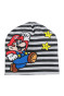 Black striped/Super Mario