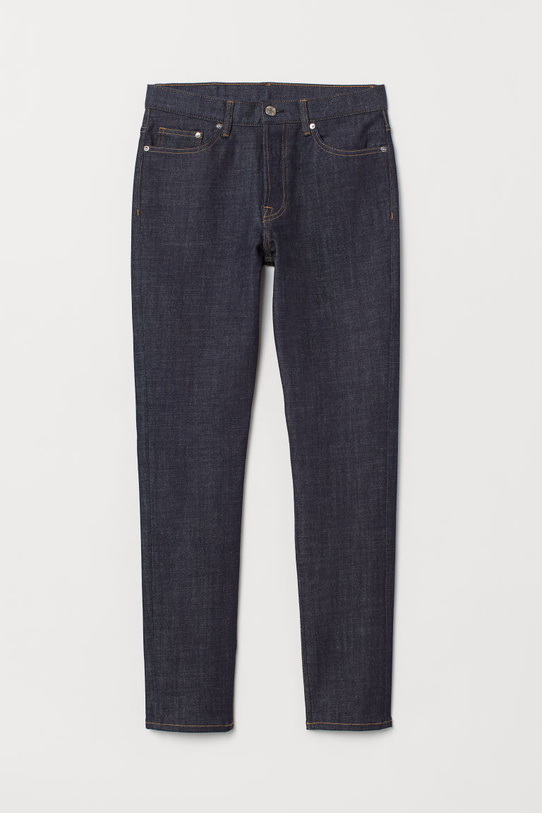 Slim Jeans - Dark blue - Men | H&M GB