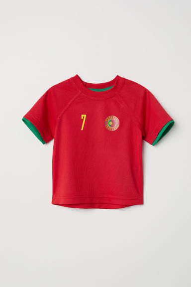 Maillot de football - Rouge/Portugal - ENFANT | H&M FR