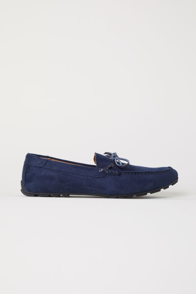 Loafers - Dark blue - Men | H&M CN