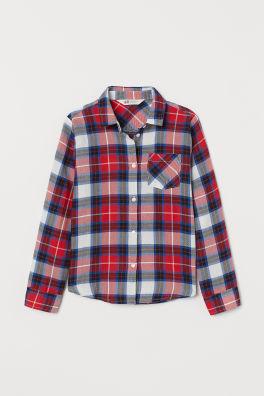 adcd23fe28a20c Koszulki i bluzki dziewczęce – ubrania dziewczęce | H&M PL