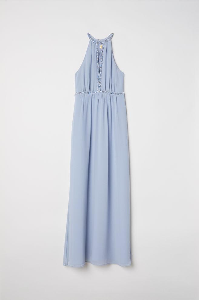 531122f836b11e Maxi-jurk - Lichtblauw - DAMES