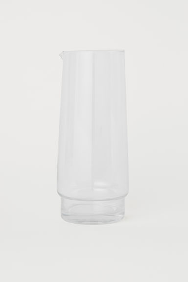 Glass carafe - Clear glass - Home All | H&M CN