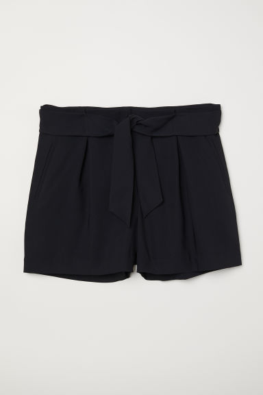 H&M+ Tailored shorts - Black - Ladies | H&M
