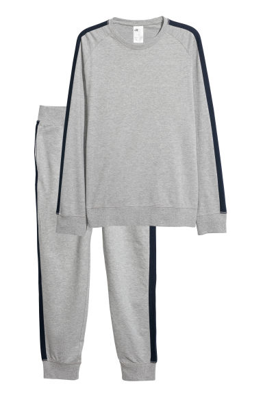 Pyjamas - Grey marl - Men | H&M CN