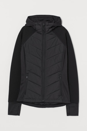 Padded Hooded Outdoor Jacket