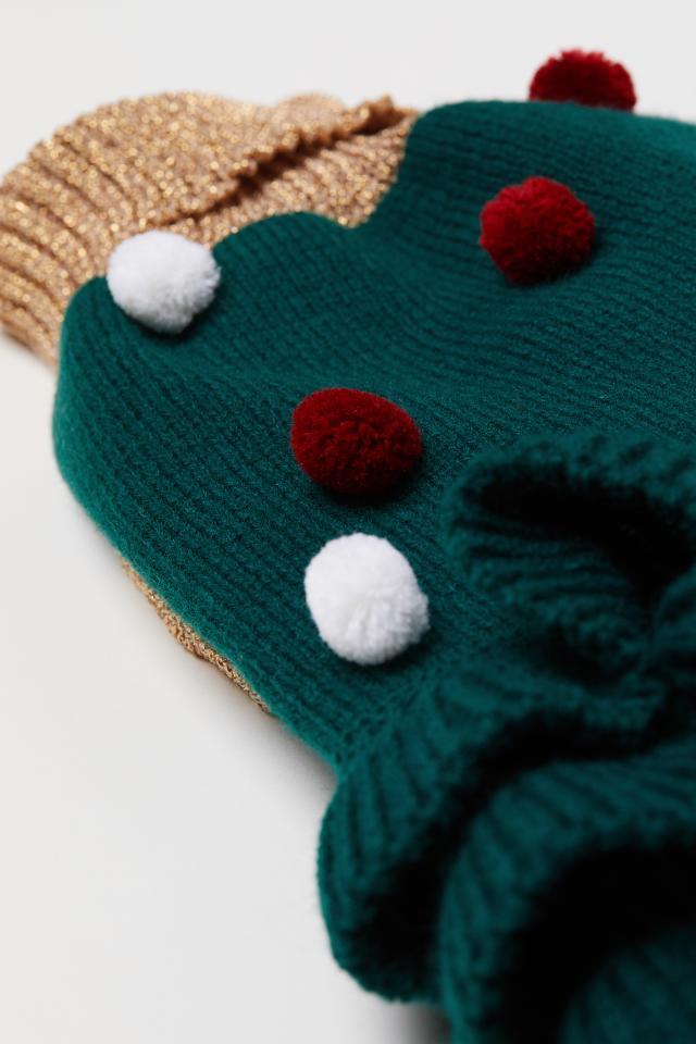 941eafd1e70 Knitted dog dress - Dark green - Ladies
