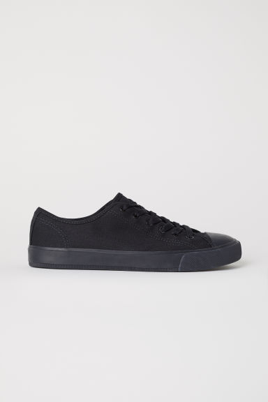 Canvas shoes - Black - Men | H&M