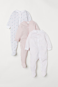3-pack Jumpsuits