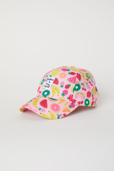 Cap - Pink/Fruit - Kids | H&M