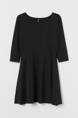H&M+ Bell-shaped jersey dress