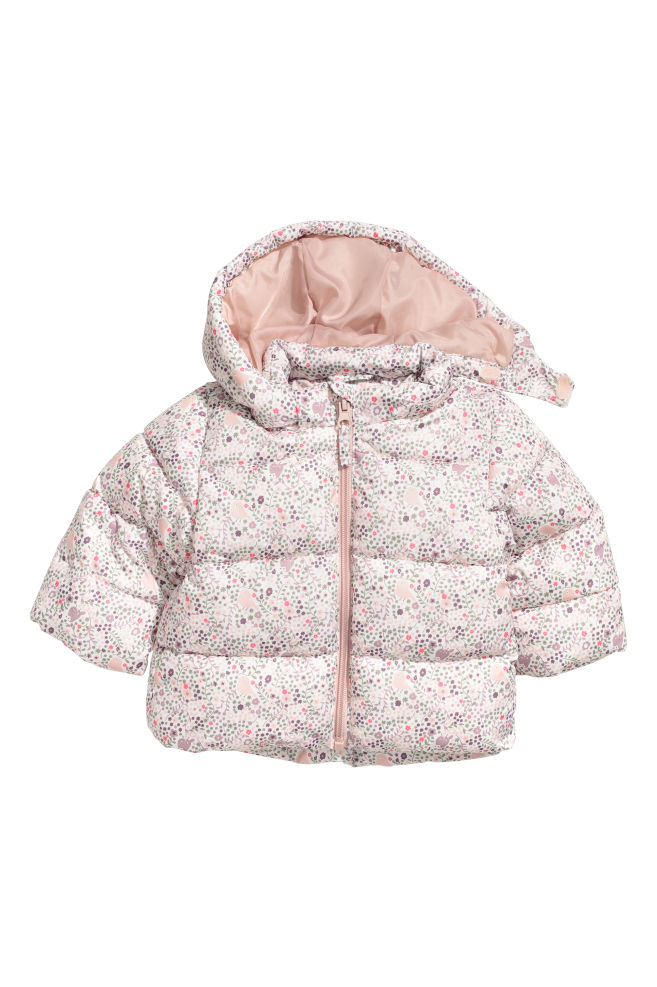 ed5abc697 Padded Jacket with Hood - Light pink - Kids