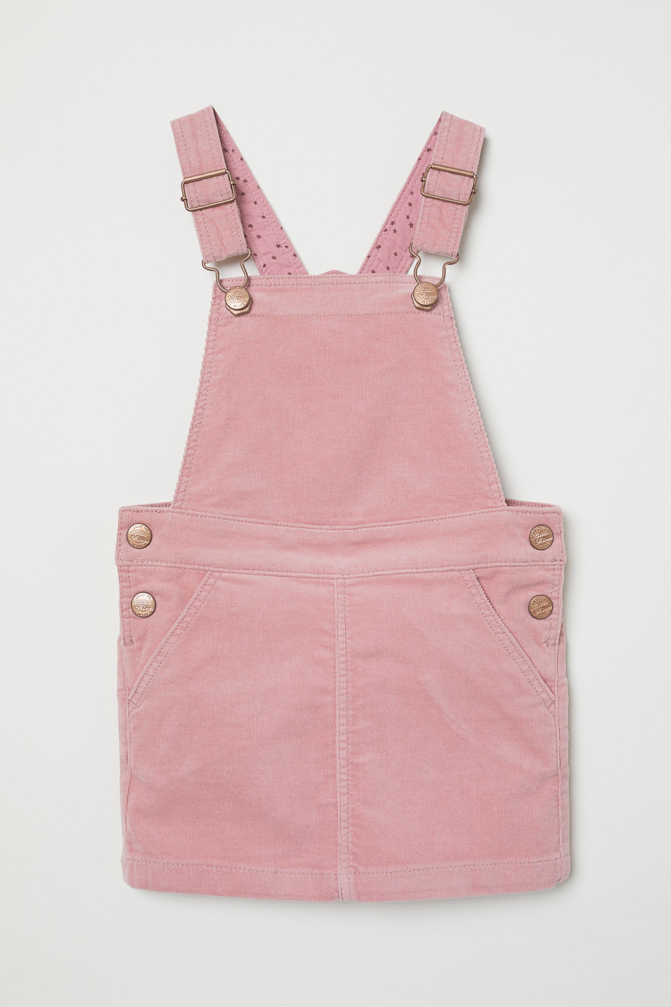 e9acbbc26b Corduroy Bib Overall Dress - Dusty rose - Kids