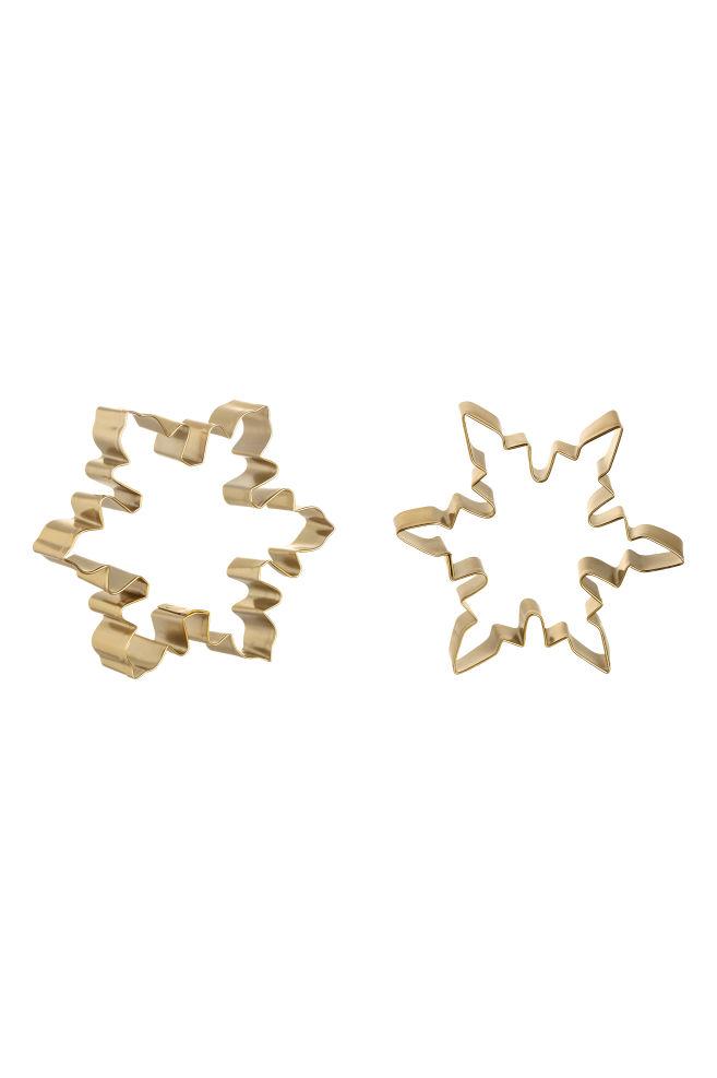 149a8fe289 Emporte-pièces, lot de 2 - Doré/étoile - Home All | H&M FR
