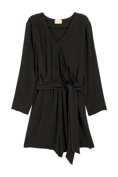 Playsuit - Black - Ladies | H&M CN
