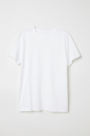 T-shirt - Wit - HEREN | H&M BE