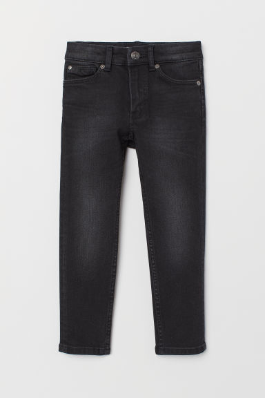 Superstretch Skinny Fit Jeans - Black/Washed - Kids | H&M CN