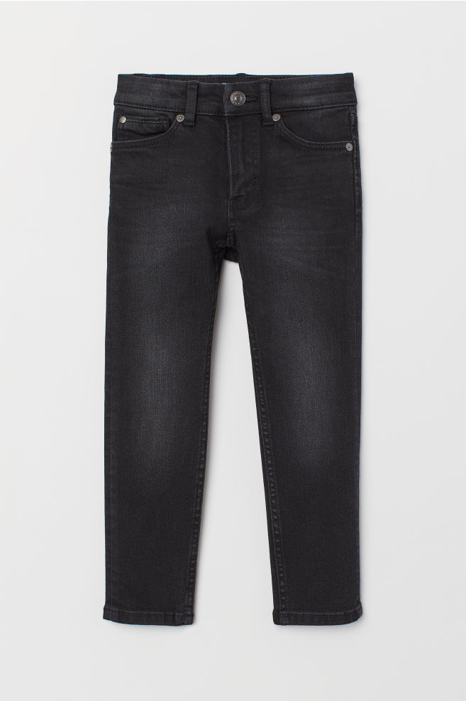 a9f919d10 Superstretch Skinny Fit Jeans - Black/washed - Kids | H&M ...