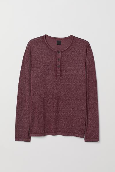 H&M - Camiseta con cuello panadero - 5