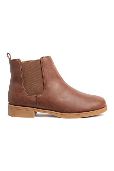 Chelsea boots - Tawny brown - Ladies | H&M