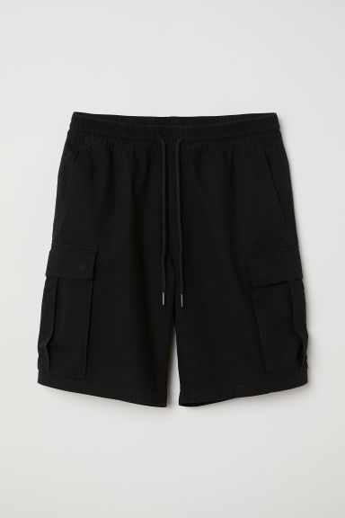 Cargo shorts - Black - Men | H&M CN