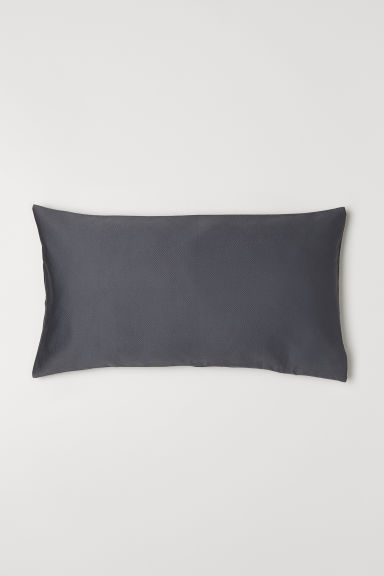Jacquard-weave Cushion Cover - Dark gray - Home All | H&M CA