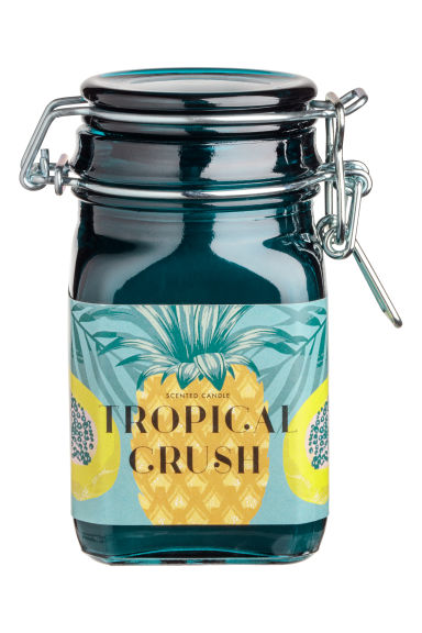 Candela profumata in vasetto - Petrolio/Tropical Crush -  | H&M IT