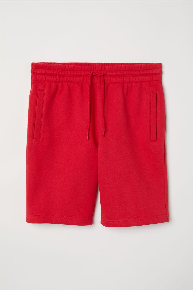 145ceca8 Sweatshorts - Red - Men   H&M ...